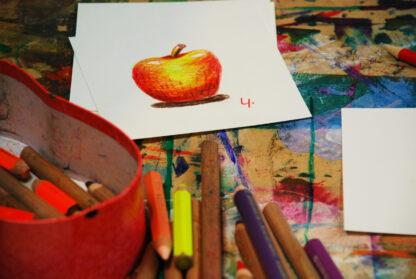 appel tekenen