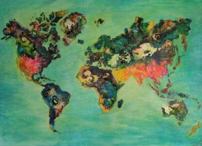 wereldkaart te koop